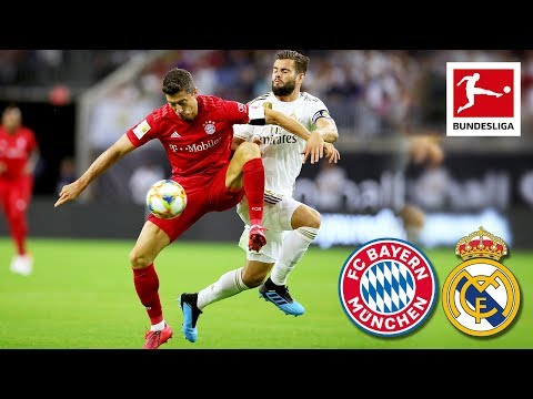 FC Bayern München - Real Madrid | 3-1 | Highlights ICC 2019