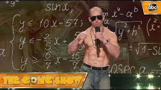 Watch this act, Geek MC^2, from The Gong Show 1x3 Celebrity Judges: Dana Carvey Tracee Ellis Ross Anthony Anderson Watch more acts on The Gong Show Thursdays...
