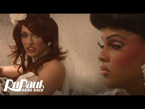 Tatianna vs. Tyra Sanchez: Wedding Dress Fight | RuPaul's Drag Race Season 2