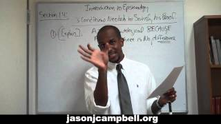 36. Epistemology Lecture Series: Section 1.4