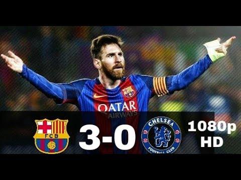 Barcelona vs chelsea 3-0 | full extended match highlights | english commentatory