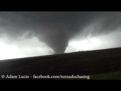 Violent Washington Roanoke Illinois Tornado