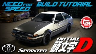 Nonton Need for Speed 2015   Initial D Toyota Sprinter Trueno GT-APEX AE86 Build Tutorial   How To Make Film Subtitle Indonesia Streaming Movie Download