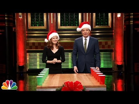 Cup - Jimmy and Amy Adams go head-to-head in the classic drinking game Flip Cup with a seasonal twist. Subscribe NOW to The Tonight Show Starring Jimmy Fallon: http://bit.ly/1nwT1aN Watch The...