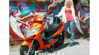 7. 2013 KYMCO Like 200i Details, Specification