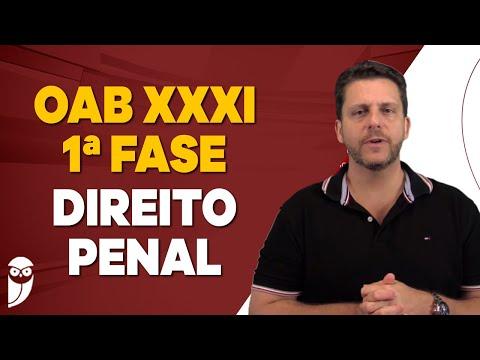 OAB XXXI - 1ª Fase: Direito Penal