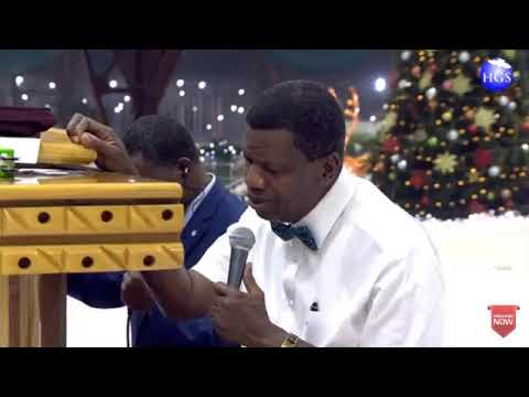 PASTOR E A ADEBOYE SERMON RCCG DECEMBER 2018 HOLY GHOST SERVICE - GLORY AHEAD