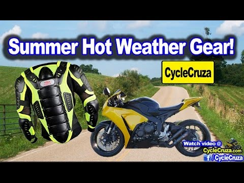 Summer Motorcycle Gear Suggestions   MotoVlog