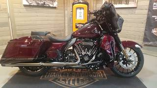 10. 2019 Harley-Davidson CVO Street Glide Special FLHXSE-Black Forest & Wineberry.
