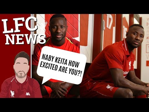 Naby Keita In The Red Of Liverpool At Last!! Starts Training Early #LFC Fan Channel
