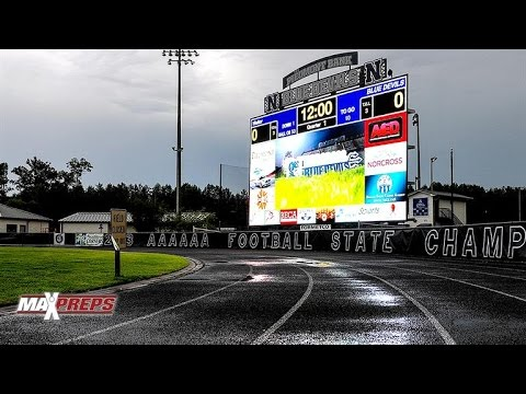 Norcross (Ga.) unveils nation's largest high school football video board