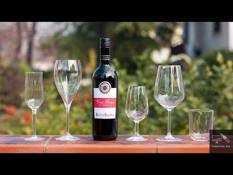 Wine&Food rec. Recensione sui principali Bicchieri per la degistazione dei Vini