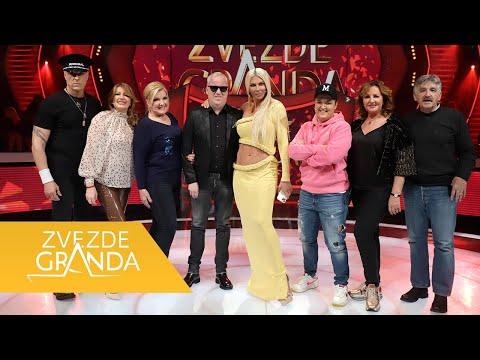 ZVEZDE GRANDA UŽIVO 2021: Cela 60. emisija (27. 03.) - video - zadnja emisija - Dalje su prošli Strahinja, Zoran, Mite, Sanja, Krstinja, Armin, Jovana, Melisa, Aleksandar i Haris