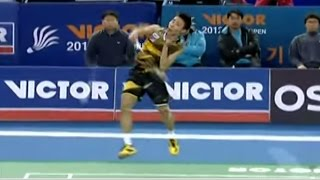 MS - Lee. C.W vs Lin D. - 2012 Victor Korea Open