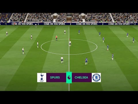 FIFA 19 | Chelsea Vs Tottenham Hotspur | Premier League Gameplay |