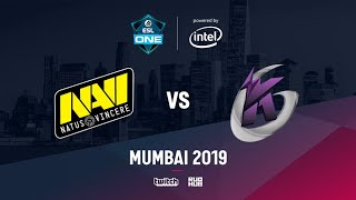 Na`Vi vs Keen Gaming, ESL One Mumbai 2019, bo3, game 1 [Godhunt & Lost]