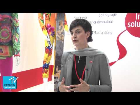 Guarda il video Kiian Digital talk sublimation and water based inks at FESPA 2015