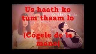 Kal ho naa ho with lyrics ---letra y subtitulos. WMV