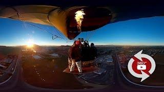 360 Camera - Wingsuit Balloon Rope Swing