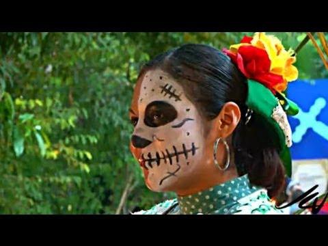 Day of the Dead in Mexico or Dia de los Muertos