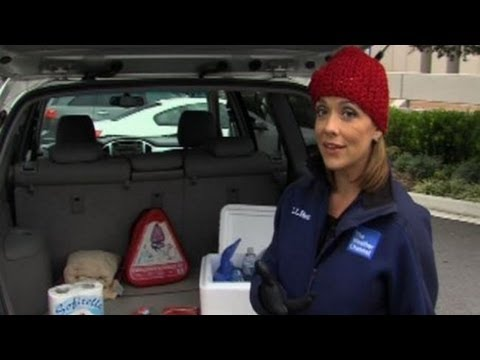 Winter Survival Kit for your car!