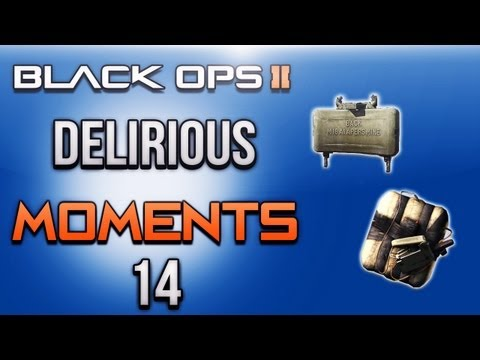 Black Ops 2 Delirious Moments ep.14 (Claymore Ninja, C4 Trap, LMG Spray)