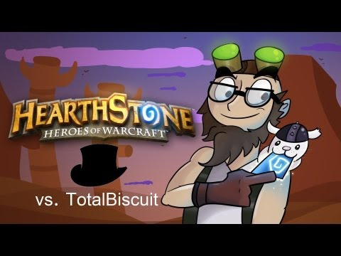 totalbiscuit - Subscribe to TotalBiscuit for more Hearthstone (and other) videos! http://youtube.com/CynicalBrit Finally, it's the match-up you've all been waiting for: Tot...