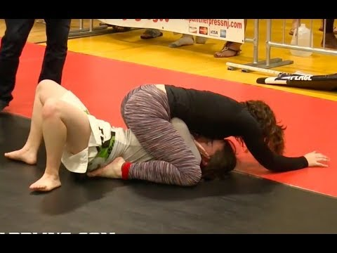 Girls Grappling No-Gi @ NJBJJF Summer Open 2017 • Female Wrestling BJJ (видео)