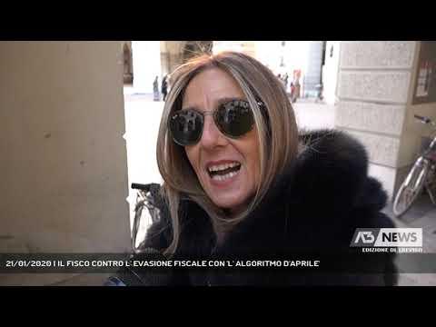 21/01/2020 | IL FISCO CONTRO L' EVASIONE FISCALE CON 'L' ALGORITMO D'APRILE'
