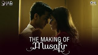 Watch the making of the latest Hindi Bollywood song from the movie Shab - 'Musafir' starring Raveena Tandon, Arpita Chatterjee,...