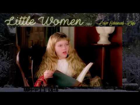 """Little Women 1994 Film - """"I'm Sorry Jo"""" (Color Enhanced Clips) HD"""