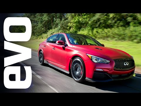 Infiniti Q50 Eau Rouge - the 'GT-R saloon' | evo REVIEW