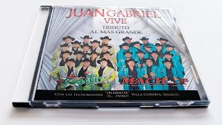 #JuanGabrielVive cd Tributo