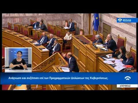 Ομιλία Κ. Βελόπουλου στη Συζήτηση για τις Προγραμματικές Δηλώσεις | 20/07/2019 | ΕΡΤ