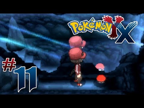 Let's Play Pokemon: X - Part 11 - Reflection Cave