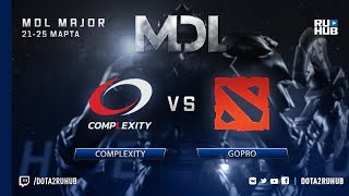 compLexity vs goPro, MDL NA, game 1 [4ce]
