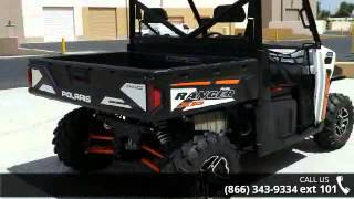 5. 2015 Polaris Ranger XP 900 EPS White Lightning  - RideNow...