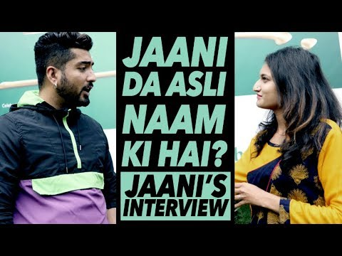 Jaani Hates His Original Name ! But Why? | Interview | DAAH Films