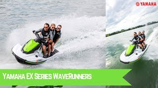 2. All New 2017 Yamaha EX Series WaveRunners