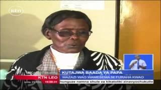 Watoto Waliozaliwa Jana Wapewa Jina La Baba Mtakatifu Francis