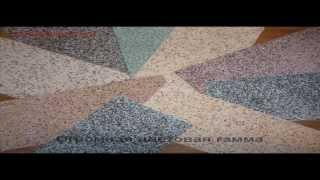 Обои по технологии Гибкий Мрамор (гибкий камень) - Гранитная текстура.