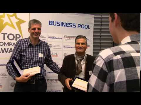 Top Company Award (TCA) 2015 - Zertifikatübergabe