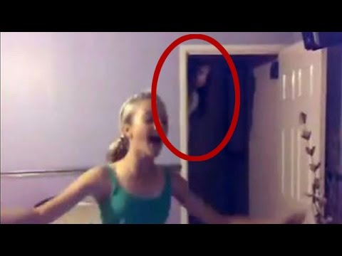 real ghost caught on tape!