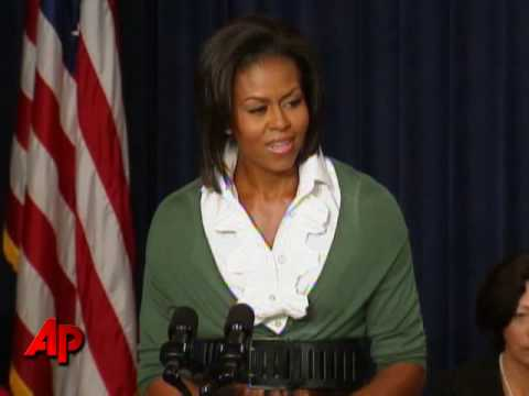 Michelle Obama: US Health Care Is 'Unacceptable'