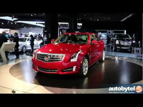 2013 Cadillac ATS and XTS at the 2012 NAIAS