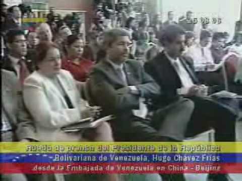 Asi opina Chávez de Israel