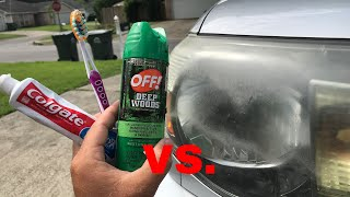 Video The TRUTH about OFF & Toothpaste vs Headlights! (+Update on WD 40) MP3, 3GP, MP4, WEBM, AVI, FLV Juli 2019