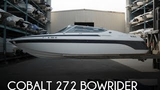 2. [SOLD] Used 1999 Cobalt 272 Bowrider in Terrell, North Carolina