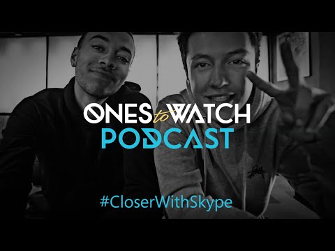 Kalin and Myles in the the Ones to Watch with Skype Podcast