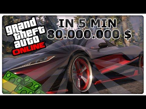 GTA 5 Online: UNENDLICH GELD HACK IN 5 MIN 80.000.000 $ | MONEY GLITCH | DEUTSCH